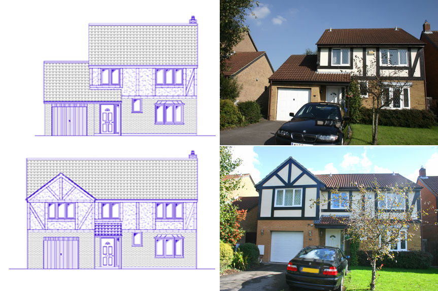 Affordable building plans home designs extension design for House extension drawings
