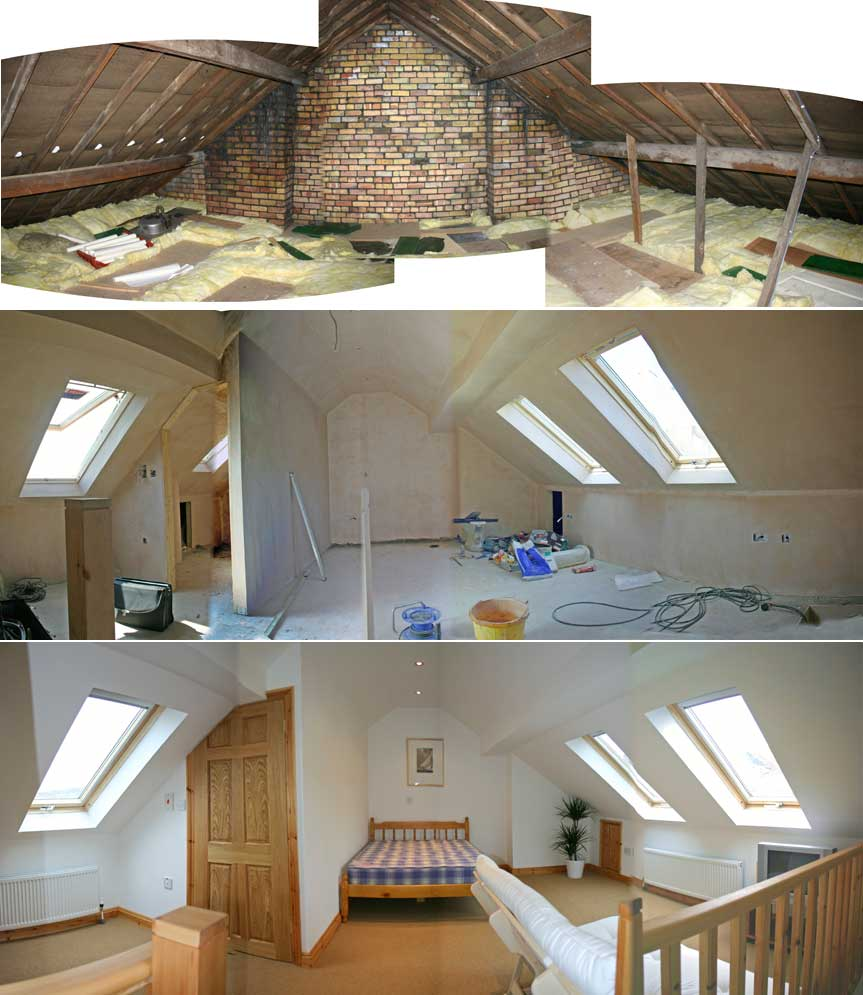 Victorian semi loft conversion joy studio design gallery for Loft drawings