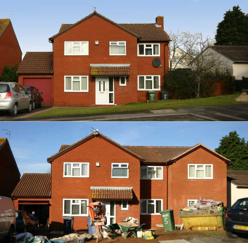 Extension design architect bristol , Two storey extension bristol ...
