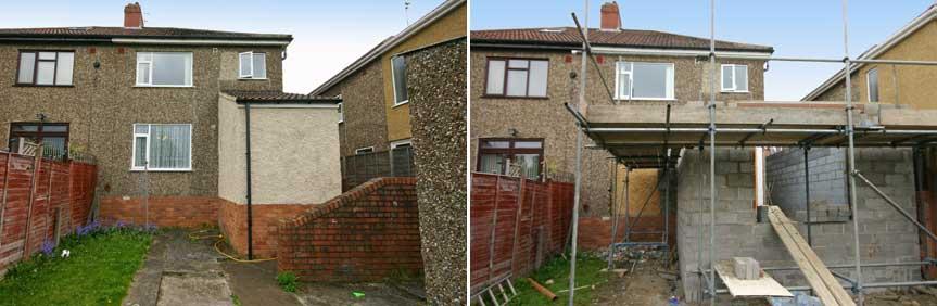 Extension design architect bristol , Two storey extension bristol ...